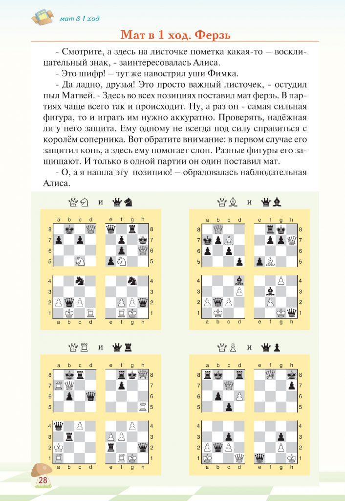 «Шахматные приключения лисёнка Фимки» страница 28
